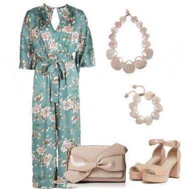 Outfit Cerimonia pastello