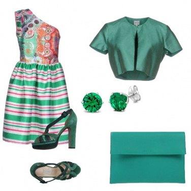 Outfit Monospalla glamour