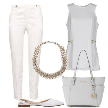 Outfit Bianco unico