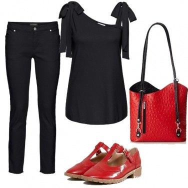 Outfit Accessori rossi