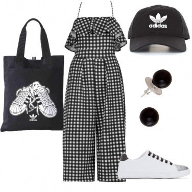 Outfit Black & White - gita fuori porta