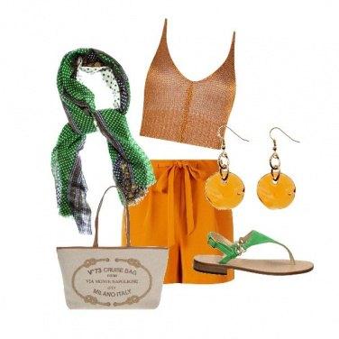 Outfit CMPS Carina e solare