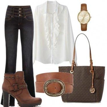Outfit Accessori marroni