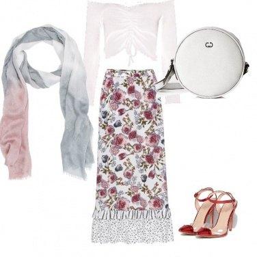 Outfit La borsetta tonda