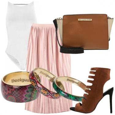Outfit Cool e plissè