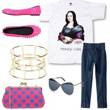 Outfit Una borsa a pois