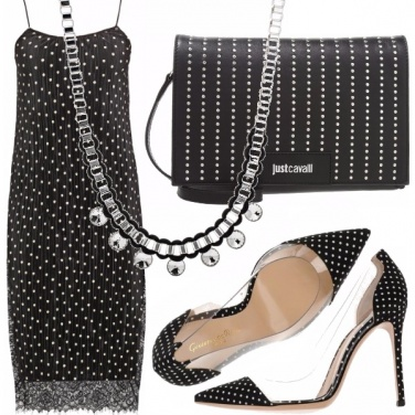 Outfit Sexy pois