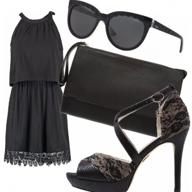 Outfit Look total black