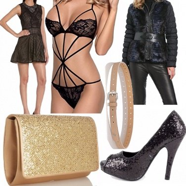Outfit All the glitter and the gold....