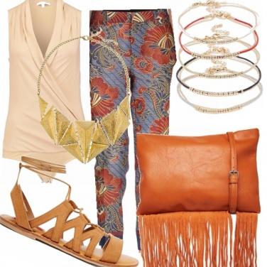 Outfit Etnicheggiante