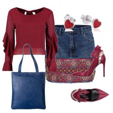 Outfit La mini di jeans