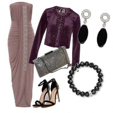Outfit Delicati drappeggi