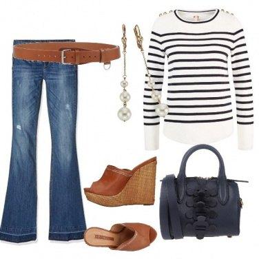 Outfit à la marinara