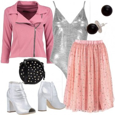 Outfit Ballerina rock