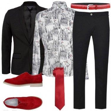 Outfit Milano in una camicia
