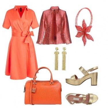 Outfit Arancione vitaminico