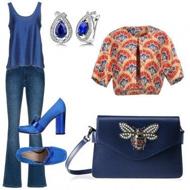 Outfit Romanticamente blue