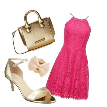 Outfit Goldink