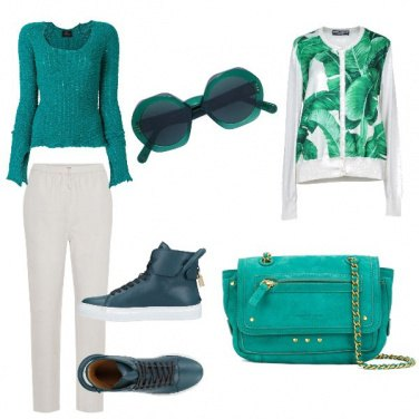 Outfit Le sneakers colorate