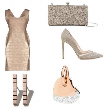 Outfit La borsa glam