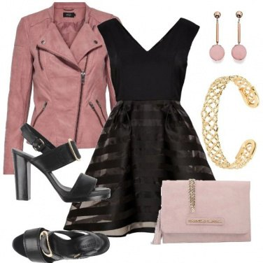 Outfit Black&Pink