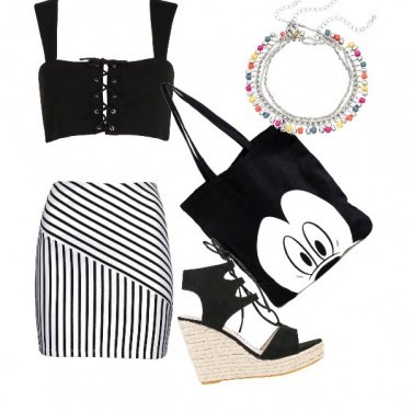 Outfit Sexy con ironia