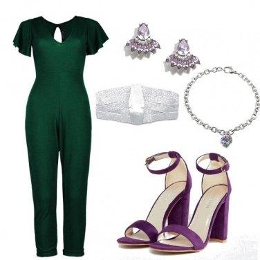 Outfit Smeraldo e Ametista