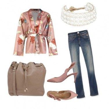 Outfit Un kimono all'italiana