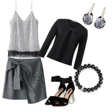 Outfit Elegante nei dettagli