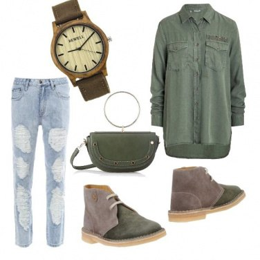 Outfit Boyfriend style