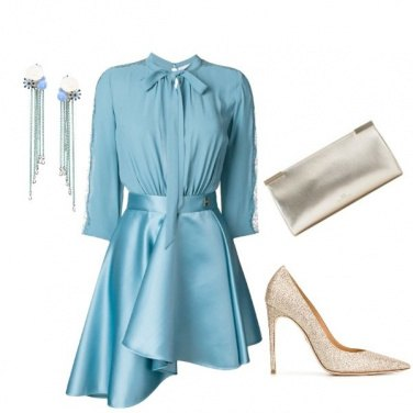 Outfit Azzurro chi
