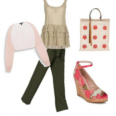 Outfit Zeppa chic