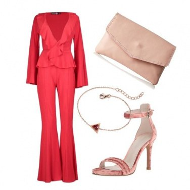 Outfit Soft red