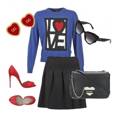 Outfit Col cuore!