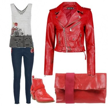 Outfit Red Ducati