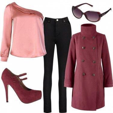 Como Combinar Zapatos De Tacon Violeta Outfit Mujer Bantoa