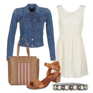 Outfit Il sandalo in cuoio