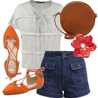 Outfit Ballerine lace up