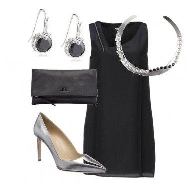 Outfit Nero argento