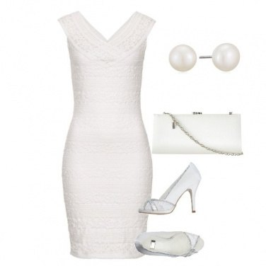 Outfit Pizzo bianco