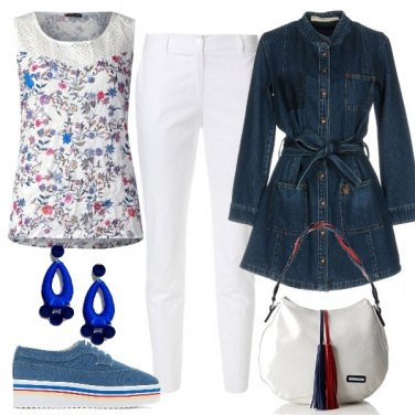Outfit Il paltò in jeans