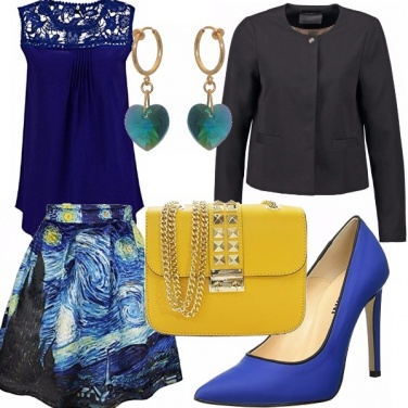 Outfit Starry night