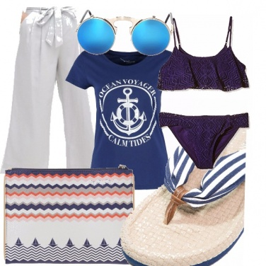 Outfit Piscina in crociera