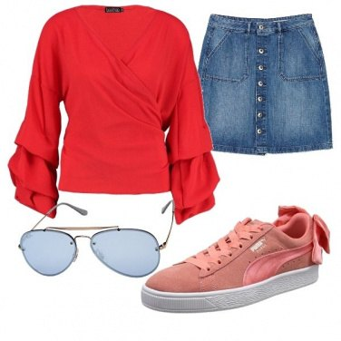 Outfit Rosa... rossaO!