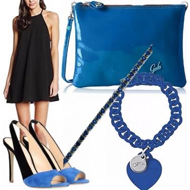 Outfit Blue e nero