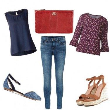 Outfit Un Jeans e due stili