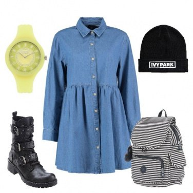 Outfit Denim mood