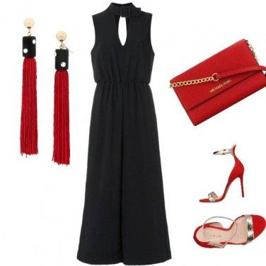 Outfit Un pizzico di rouge ##