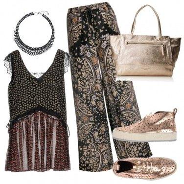 Outfit Arabeschi dorati