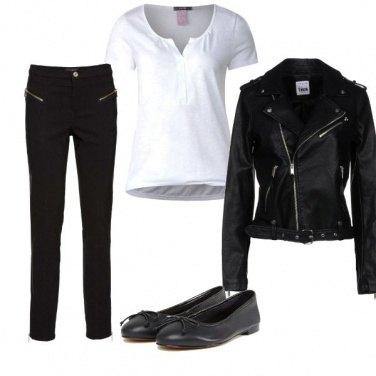 Outfit Semplicemente biker jacket